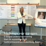 Training Psychologie voor managers